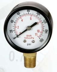 Pneumatic Vertical Pressure Gauge