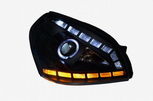 bi-xenon projector headlights for Tucson