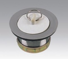 Stainless Steel Waste Drain With Rubber Plug