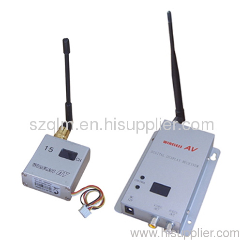 1.2GHz 200mW wireless transmitter and receiver