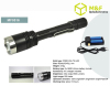 Strong 900lumens cree xml t6 led hunting flashlight rechargeable torch light compact with pocket clip