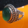 marcasite silver ring,agate 925 Thai silver jewelry