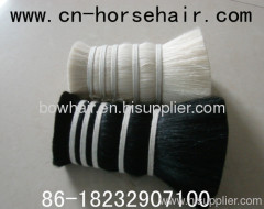 black dyed goat hair for brush making