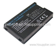 High capacity for Asus F81S battery