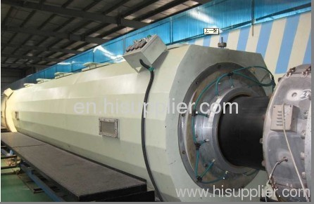 400mm large diameter HDPE pipe production line