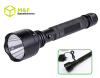 Strong police 3W cree led 4-modes rechargeable flashlight high power with AC/DC recharge