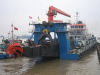 The Sand Pump Vessel Exporting to Italy