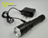 Portable size 5w cree led flashlights rechargeable led torch light 2012 new