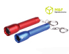 1 super bright blue moon small zooming keychain mini led flashlight