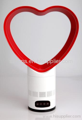 12 Inch Heart Shape Bladeless Fan