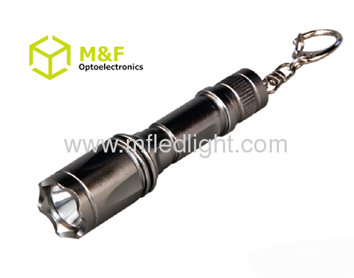 super bright 0.5W mini led keychain flashlight torch