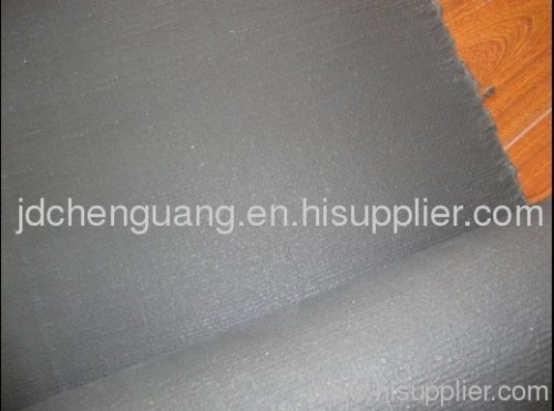 Fiberglass cloth coated with Vermiculite