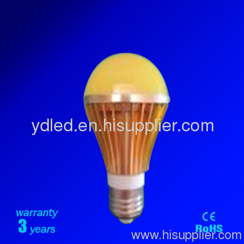 5W dimmable led bulb