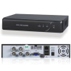 H.264 Compression 4 channel standalone dvr