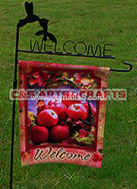 custom fruit basket garden flag