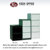 knock-down metal filing cabinets with 2 Drawers