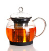 French glass press coffee pot