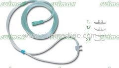 Double-hole Nasal Oxygen Cannula (Soft tip)