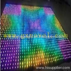 Led vision curtain stage background lighting