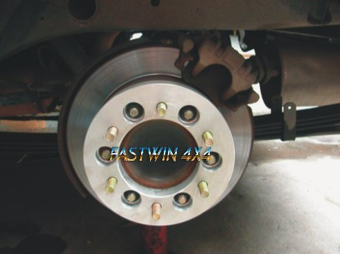 Space Wheel Aligner for 4x4 Use