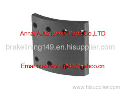 brake lining WVA:19935,BFMC:RN/101/1,friction lining,flat head rivet,drum brake liner,high quality brake lining