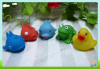 Mini bath toy small rubber animals