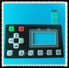 emboss membrane switch with LCD clear window