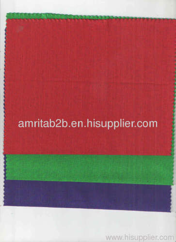 100% COTTON LINEN LOOK FABRIC