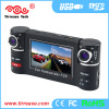 Dual lens 720P DVR with SOS button car black box