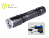 2012 New 3W CREE Q3 led aluminum rechargeable flashlight torch light