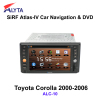Toyota Corolla DVD Player GPS Radio USB SD TV MP3 IPOD Bluetooth Canbs AM/FM Tuner/RDS HD Digital Touchscreen