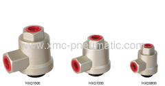 Quick exhaust valve