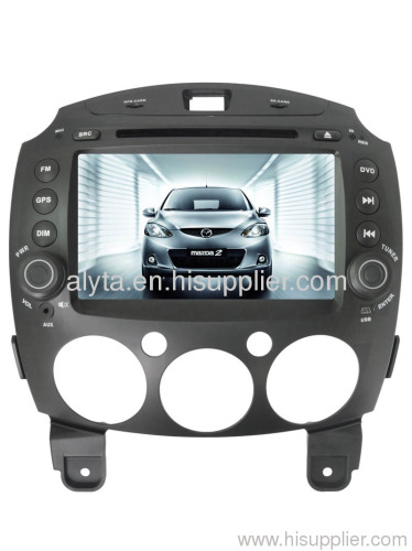 Mazda2 car dvd gps Bluetooth radio tv usb sd slot canbus ipod/iphone/ipad HD digital touchscreen