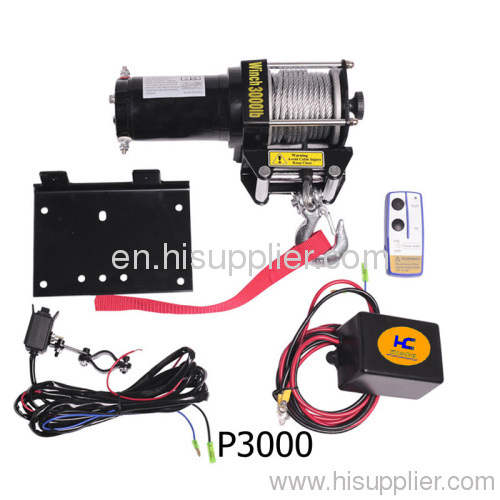 Electric Trailer Winch 3000lb