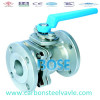 A351 CF8 CF8M CF3 CF3M flanged floating ball valve