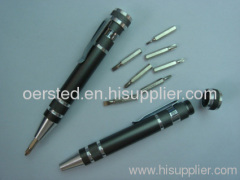 Aluminum Precision Screwdriver / Pen-Style Screwdriver Set