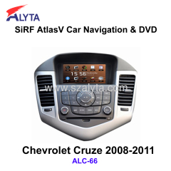 CHEVROLET Cruze 2008-2011 navigation dvd SiRF A4 (AtlasⅣ) 7.0 inch touch screen