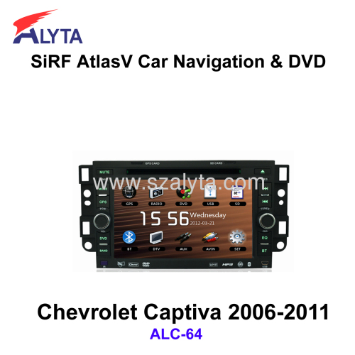 CHEVROLET Captiva 2006-2011 DVD GPS Radio USB SD IPOD Canbus Touchscreen BT RDS HD Touchscreen