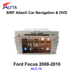 Ford Focus 2008-2010 navigation dvd SiRF A4 (AtlasⅣ) 7.0 inch touch screen