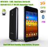 "5"" dual sim android smartphone 3G/ WIFI/GPS/FM capacitive HD LCD 3D game"