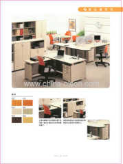 Brown Modern office desk furniture