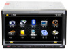 Universal 2din 7inch car dvd player with gps navigation bluetooth dvb-t tv