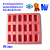 Colorful EPE foam with customized shape as cushion protective materials