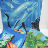 100% cotton velvet reactive printed beach towels