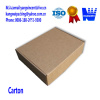 Corrugated carton box for packing and shipment