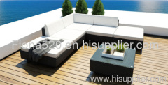 hotsale durable outdoor PE rattan furniture gadern/patio sofa