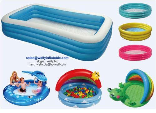Inflatable pool, Inflatable swimming pool, 3-ring pool, Inflatable baby pool, Kid's paddling pool