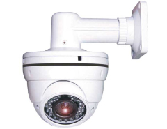 700TVL Vandalproof IR dome camera (IGV-VD13EFR) with wall-mount bracket