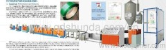 PET bale strap packing production line