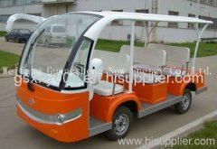 solar electric bus with 8 seats GS4/PV-308
